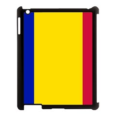 Civil Flag Of Andorra Apple Ipad 3/4 Case (black) by abbeyz71