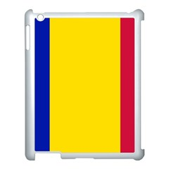 Civil Flag Of Andorra Apple Ipad 3/4 Case (white) by abbeyz71