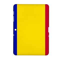 Civil Flag Of Andorra Samsung Galaxy Tab 2 (10 1 ) P5100 Hardshell Case
