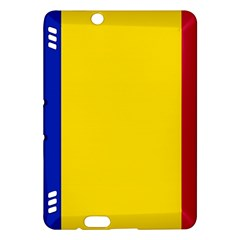 Civil Flag Of Andorra Kindle Fire Hdx Hardshell Case