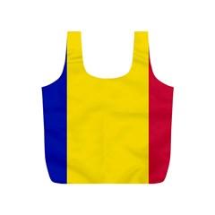Civil Flag Of Andorra Full Print Recycle Bags (s)