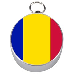 Civil Flag Of Andorra Silver Compasses
