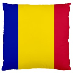 Civil Flag Of Andorra Standard Flano Cushion Case (two Sides)
