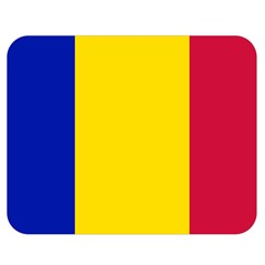 Civil Flag Of Andorra Double Sided Flano Blanket (medium)