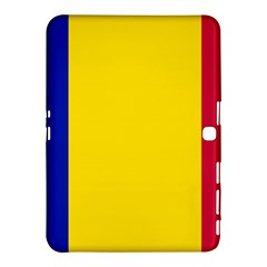Civil Flag Of Andorra Samsung Galaxy Tab 4 (10 1 ) Hardshell Case