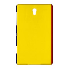 Civil Flag Of Andorra Samsung Galaxy Tab S (8 4 ) Hardshell Case