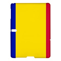 Civil Flag Of Andorra Samsung Galaxy Tab S (10 5 ) Hardshell Case