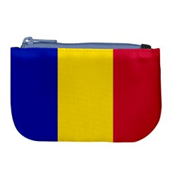 Civil Flag Of Andorra Large Coin Purse