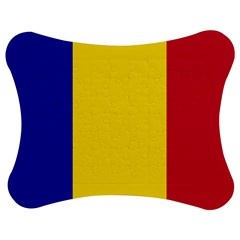 Civil Flag Of Andorra Jigsaw Puzzle Photo Stand (bow)