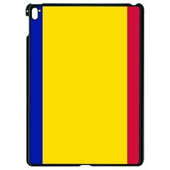 Civil Flag Of Andorra Apple Ipad Pro 9 7   Black Seamless Case