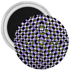 Hypnotic Geometric Pattern 3  Magnets by dflcprints