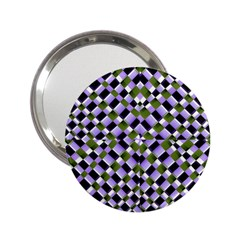 Hypnotic Geometric Pattern 2 25  Handbag Mirrors