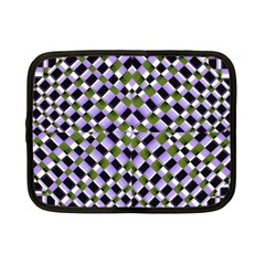 Hypnotic Geometric Pattern Netbook Case (small)  by dflcprints