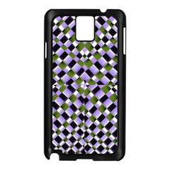 Hypnotic Geometric Pattern Samsung Galaxy Note 3 N9005 Case (black)