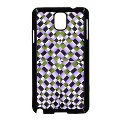 Hypnotic Geometric Pattern Samsung Galaxy Note 3 Neo Hardshell Case (black) by dflcprints