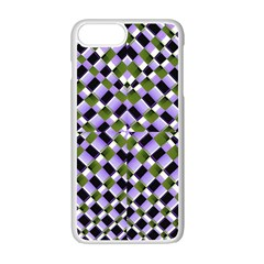 Hypnotic Geometric Pattern Apple Iphone 7 Plus Seamless Case (white) by dflcprints