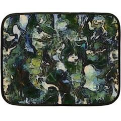Beyond The Window Double Sided Fleece Blanket (mini)  by girleyjanedesigns