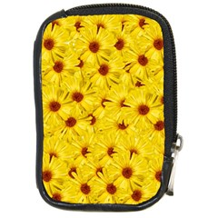 Yellow Flowers Compact Camera Cases