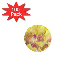 Yellow Rose 1  Mini Magnets (100 Pack)  by aumaraspiritart