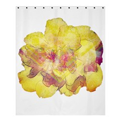 Yellow Rose Shower Curtain 60  X 72  (medium)  by aumaraspiritart