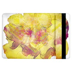 Yellow Rose Ipad Air Flip by aumaraspiritart