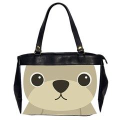 Animal Bear Cartoon Children Kids Office Handbags (2 Sides)  by Simbadda