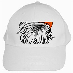 Animal Bird Cartoon Comic Eagle White Cap
