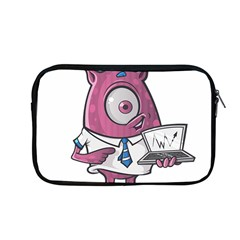 Business Education Logo Monster Apple Macbook Pro 13  Zipper Case by Simbadda