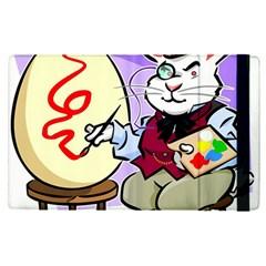 Bunny Easter Artist Spring Cartoon Apple Ipad Pro 12 9   Flip Case by Simbadda