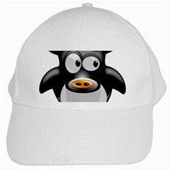 Cow Animal Mammal Cute Tux White Cap