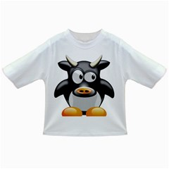 Cow Animal Mammal Cute Tux Infant/toddler T Shirts