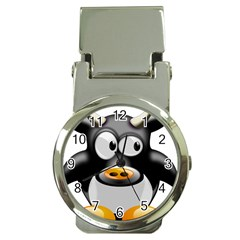 Cow Animal Mammal Cute Tux Money Clip Watches