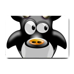 Cow Animal Mammal Cute Tux Small Doormat