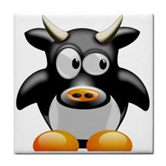 Cow Animal Mammal Cute Tux Face Towel