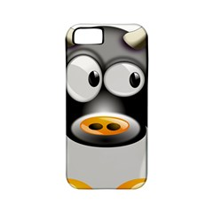 Cow Animal Mammal Cute Tux Apple Iphone 5 Classic Hardshell Case (pc+silicone)