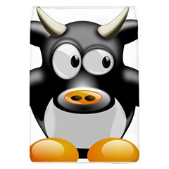 Cow Animal Mammal Cute Tux Flap Covers (l)