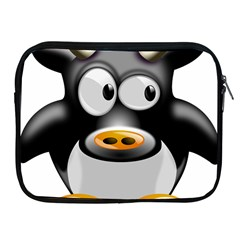 Cow Animal Mammal Cute Tux Apple Ipad 2/3/4 Zipper Cases