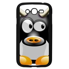 Cow Animal Mammal Cute Tux Samsung Galaxy Grand Duos I9082 Case (black)
