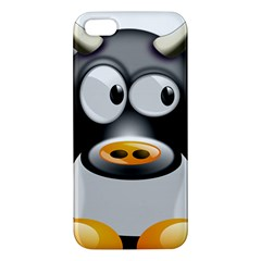 Cow Animal Mammal Cute Tux Iphone 5s/ Se Premium Hardshell Case
