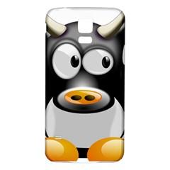 Cow Animal Mammal Cute Tux Samsung Galaxy S5 Back Case (white)