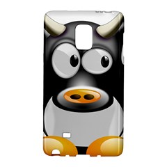 Cow Animal Mammal Cute Tux Galaxy Note Edge