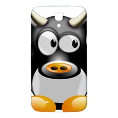 Cow Animal Mammal Cute Tux Samsung Galaxy Mega I9200 Hardshell Back Case