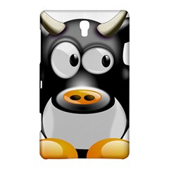 Cow Animal Mammal Cute Tux Samsung Galaxy Tab S (8 4 ) Hardshell Case