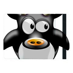 Cow Animal Mammal Cute Tux Apple Ipad Pro 10 5   Flip Case