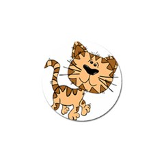 Cats Kittens Animal Cartoon Moving Golf Ball Marker (4 Pack)
