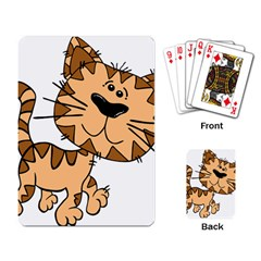 Cats Kittens Animal Cartoon Moving Playing Card