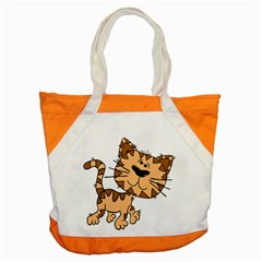 Cats Kittens Animal Cartoon Moving Accent Tote Bag