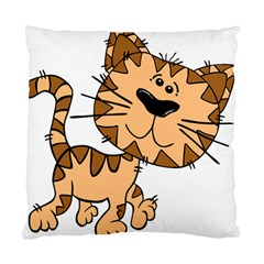 Cats Kittens Animal Cartoon Moving Standard Cushion Case (two Sides)