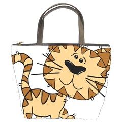Cats Kittens Animal Cartoon Moving Bucket Bags