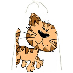 Cats Kittens Animal Cartoon Moving Full Print Aprons